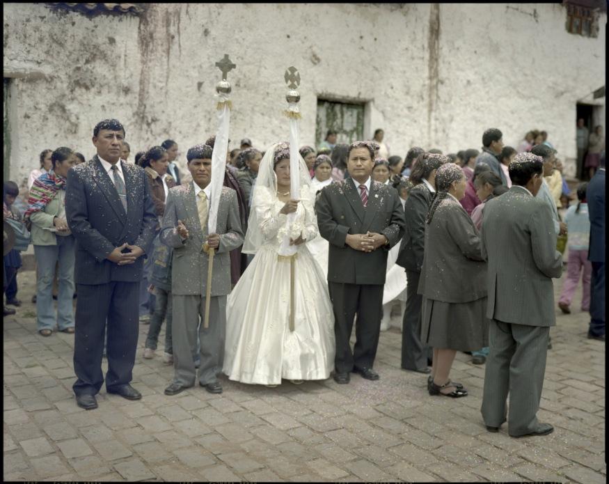 """Peru, Huarocondo, Cuzco, 2009 - From the book """"Peru"""" of Martin Chambi and Juan Manuel Castro Prieto. Wedding of Leonardo and Magdalena."""