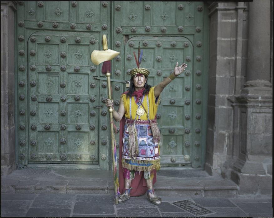 "Peru, Cuzco, 2009 - From the book ""Peru"" of Martin Chambi and Juan Manuel Castro Prieto. Luis Sinchi Inka."
