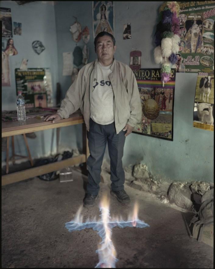 "Peru, Huasao, 2009 - From the book ""Peru"" of Martin Chambi and Juan Manuel Castro Prieto. Leoncio Mojonero, healer."