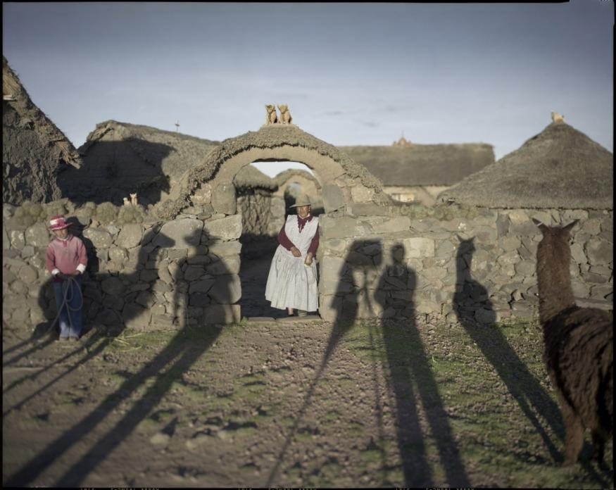 "Peru, Atuncolla, Puno, 2009 - From the book ""Peru"" of Martin Chambi and Juan Manuel Castro Prieto. Lucrecia Paredes."