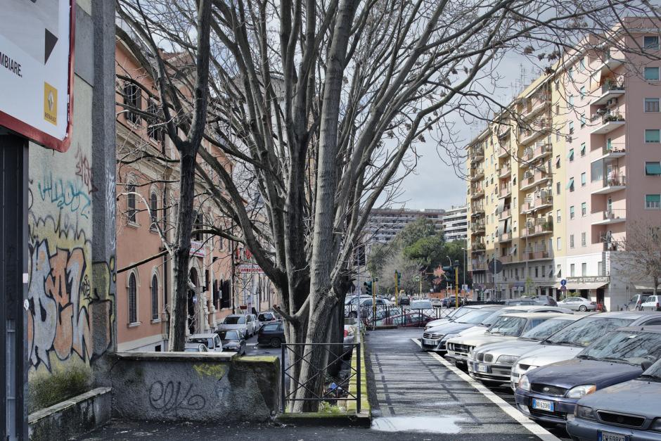Italy, Rome, 08 February 2009Via Antonio Pacinotti.Italie, Rome, 08 fÈvrier 2009Via Antonio Pacinotti.Guy Tillim / Agence VU
