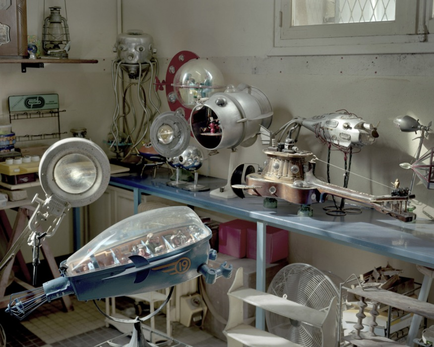 France, Sète, September - November 2010. Stephan Biascamano's studio.