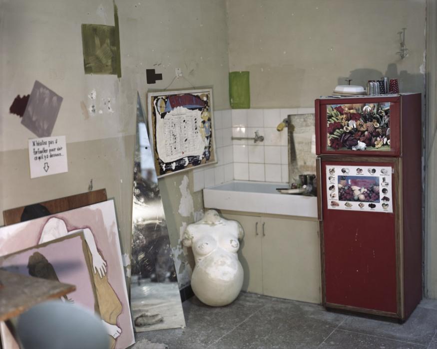 France, Sète, September - November 2010. MaÎl Mignot's studio.