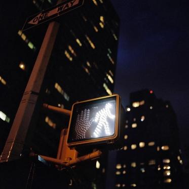 USA, New York, April 2009Street scene.USA, New York, Avril 2009Scne de rue.© Franck Ferville / Agence VU