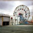 USA, New York, April 2011Wonder Wheel on Coney Island.USA, New York, avril 2011Grande roue à Coney Island.Franck Ferville / Agence VU
