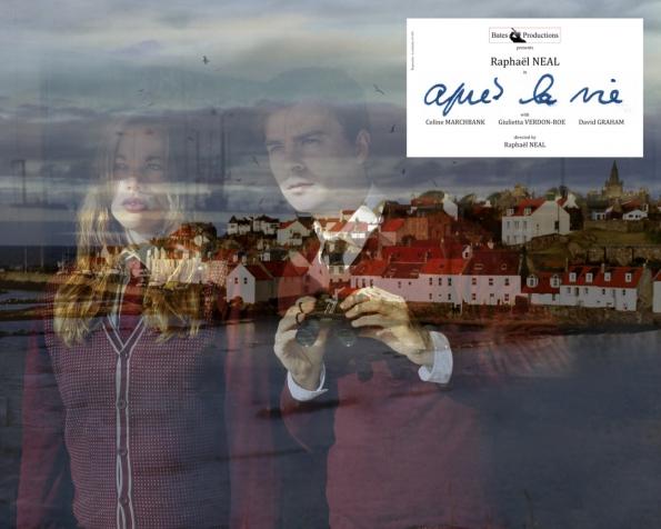 Après la vie #1, autoportrait avec Giulietta Verdon-Roe, 2011.  Série «Bates Productions», édition 7 + 3 AP