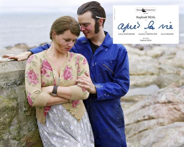 Après la vie #6, autoportrait avec Celine Marchbank, 2011.  Série «Bates Productions», édition 7 + 3 AP