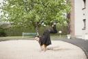 "France, Maison Laffitte, 26 March 2012From the book ""Chevaleresque"".Carole Martin, Eccentric, 29, 160 cm, 47 kg.France, Maison Laffitte, 26 mars 2012Issue du livre ""Chevaleresque"".Carole Martin, Excentrique, 29 ans, 160 cm, 47 kg.Rip Hopkins / Agence VU"