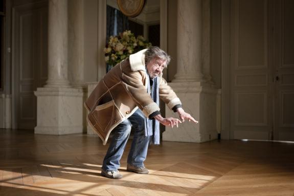 """France, Maison Laffitte, 24 March 2012From the book """"Chevaleresque"""".Yves Chereau, Bird, 63, 165 cm, 57 kg.France, Maison Laffitte, 24 mars 2012Issue du livre """"Chevaleresque"""".Yves Chereau, Oiseau, 63 ans, 165 cm, 57 kg.Rip Hopkins / Agence VU"""