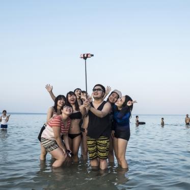 Vietnam, Min Chau, 28 April 2015Vietnamese in holidaysVietnam, Min Chau, 28 avril 2015vietnamiens en vacancesFranck Ferville / Agence VU