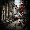 Vietnam, Hanoi, 30 April 2015Reunification Express TrainVietnam, Hanoi, 30 avril 2015train de la réconciliationFranck Ferville / Agence VU