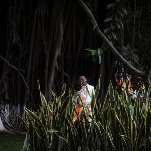 Vietnam, Ho Chi Minh, 17 April 2015Bride and groom.Vietnam, Ho Chi Minh, 17 avril 2015mariés.Franck Ferville / Agence VU