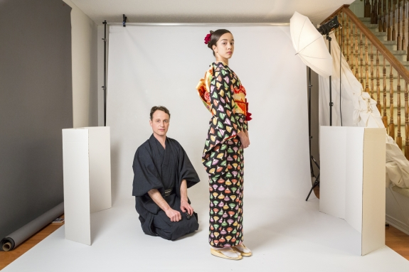 Canada, Ontario, Ottawa, 28 February 2017Kyoko Tsunetomi's CorgiMark Photography studio.Canada, Ontario, Ottawa, 28 février 2017Studio photo Kyoko Tsunetomi's CorgiMark.Rip Hopkins / Agence VU / Ambassade de France au Canada