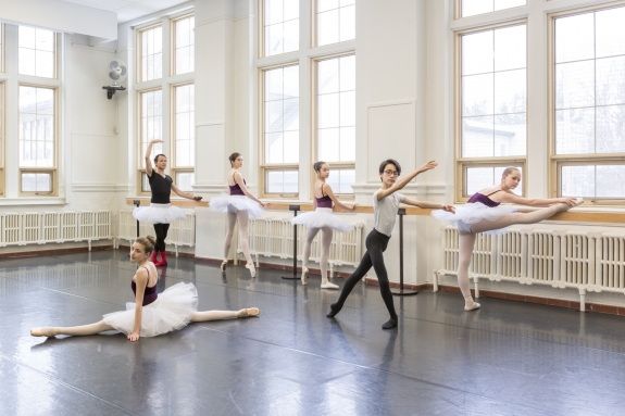 Canada, Ontario, Ottawa, 21 February 2017The School of Dance.Canada, Ontario, Ottawa, 21 février 2017L'Ecole de Danse.Rip Hopkins / Agence VU / Ambassade de France au Canada