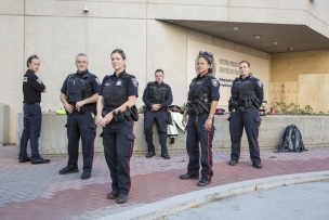 Canada, Ontario, Ottawa, 07 October 2016Ottawa Police Headquarters.Canada, Ontario, Ottawa, 07 octobre 2016Siège de la police d'Ottawa.Rip Hopkins / Agence VU / Ambassade de France au Canada