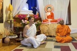Canada, Ontario, Ottawa, 03 March 2017Ottawa Buddhist Vihara.Canada, Ontario, Ottawa, 03 mars 2017Vihara bouddhist d'Ottawa.Rip Hopkins / Agence VU / Ambassade de France au Canada