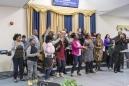 Canada, Ontario, Ottawa, 27 February 2017 All Nations Full Gospel Church, Newmarket Street.  Canada, Ontario, Ottawa, 27 février 2017 All Nations Full Gospel Church, Newmarket Street.  Rip Hopkins / Agence VU / Ambassade de France au Canada
