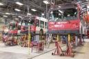 Canada, Ontario, Ottawa, 28 Feburary 2017 OC Transport main garage. Canada, Ontario, Ottawa, 28 février 2017 Garage principale de la compagnie OC Transport.  Rip Hopkins / Agence VU / Ambassade de France au Canada