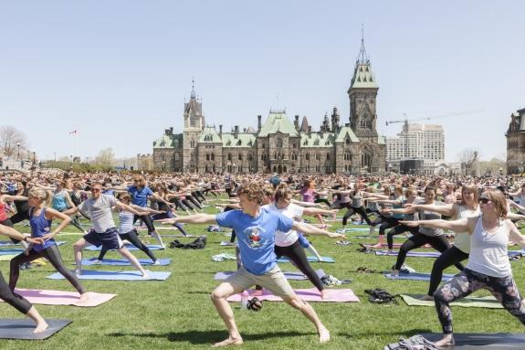 Canada, Ontario, Ottawa, 11 May 2016 Parliament Hill. Canada, Ontario, Ottawa, 11 mai 2016 Parliament Hill. Rip Hopkins / Agence VU / Ambassade de France au Canada
