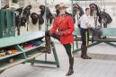 Canada, Ontario, Ottawa, 02 March 2017 Royal Canadian Mounted Police barracks. Canada, Ontario, Ottawa, 02 mars 2017 Dans les écuries de la Garde Montée Canadienne.  Rip Hopkins / Agence VU / Ambassade de France au Canada
