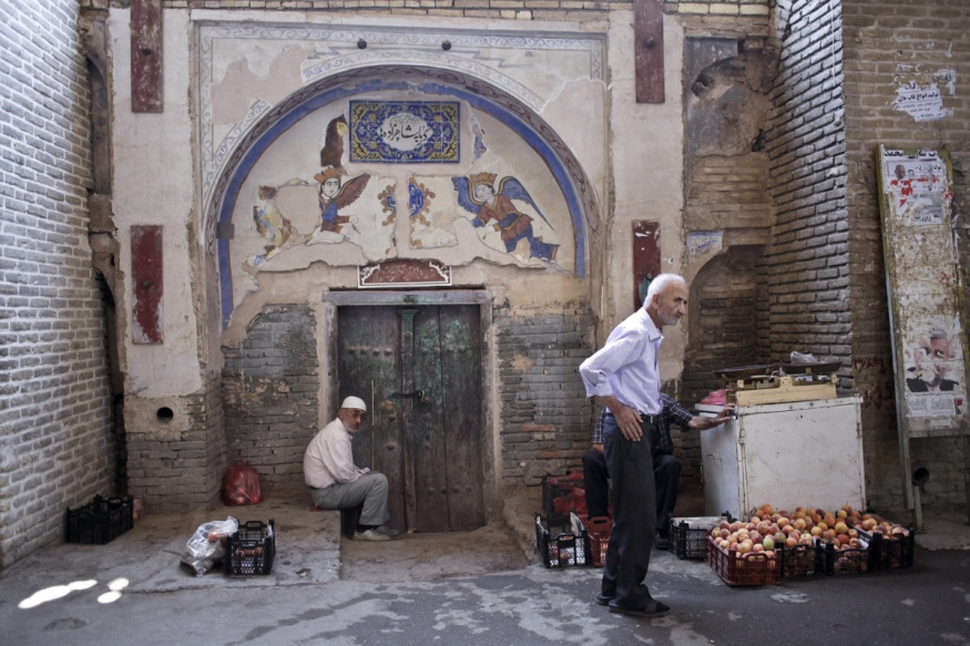 Iran, Isfahan, 15 August 2013 - Bazaar, built in the 17th century.