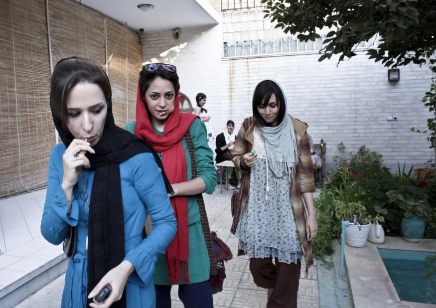 Iran, Isfahan, 30 August 2013 - Apadana gallery.