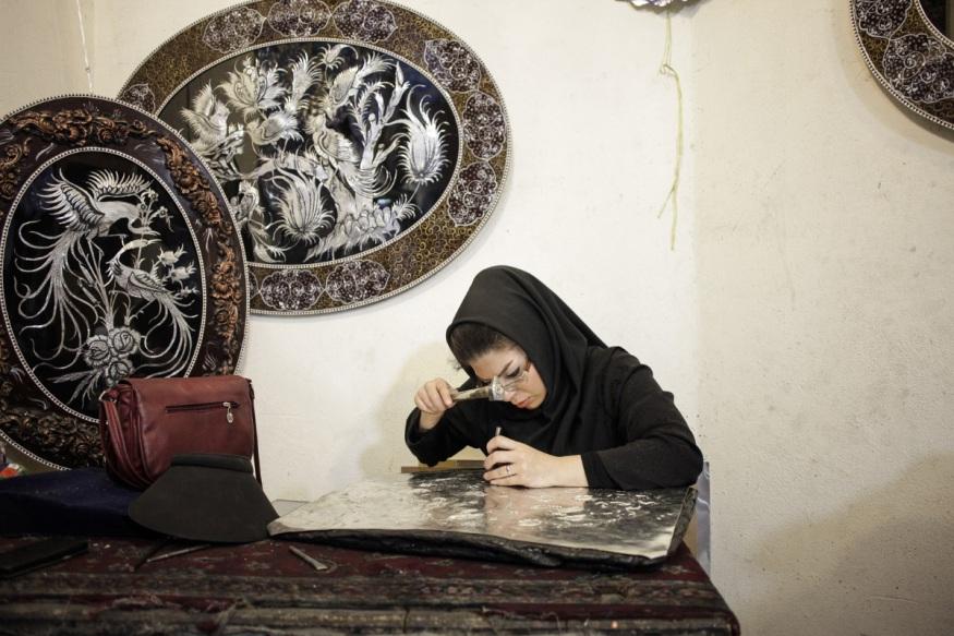 Iran, Isfahan, August 2015 - Bazaar.