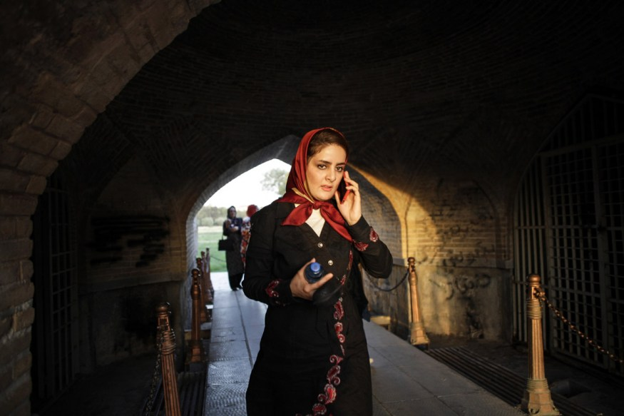 Iran, Isfahan, August 2015 - Under the arches of Si o Se Pol bridge.
