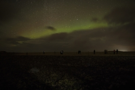 Iceland, 15 Décember 2018Northern lights.Islande, 15 décembre 2018Aurore boréale.Franck Ferville / Agence VU