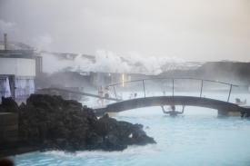Iceland, Grindavík, 11 December 2018Blue lagun. Islande, Grindavík, 11 décembre 2018Lagon Bleu. Franck Ferville / Agence VU