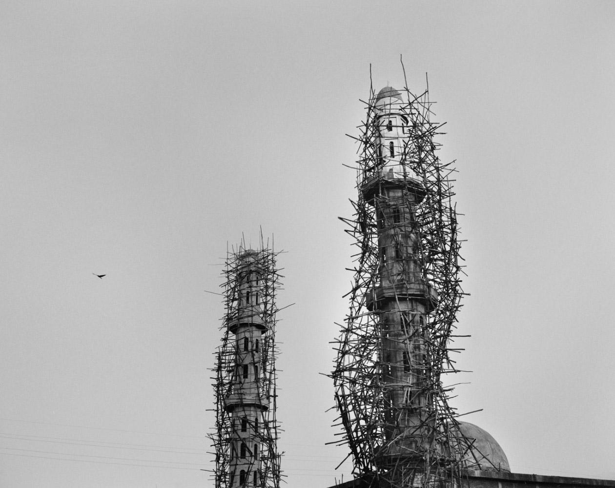 Ethiopia, Bahir Dar, 2005 Mosque under construction