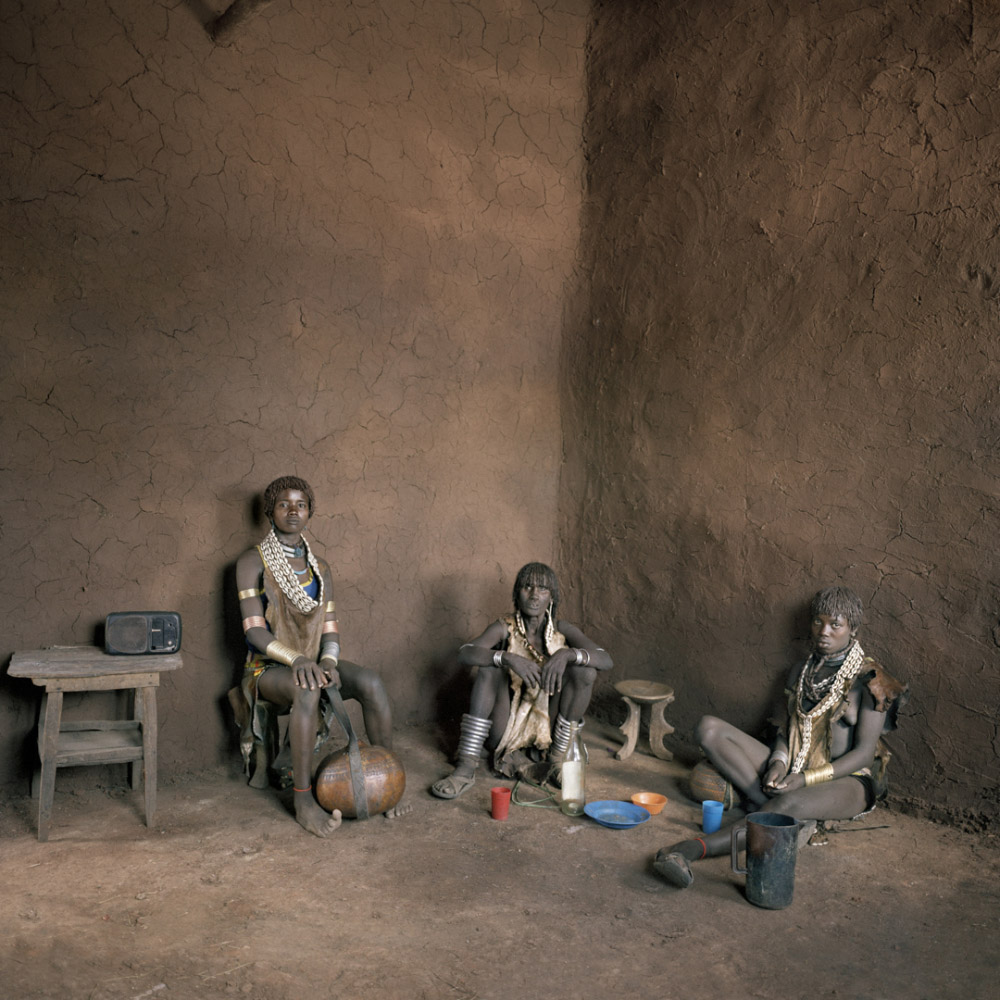 Ethiopia, Dimeka, 2005 House of Tech bier