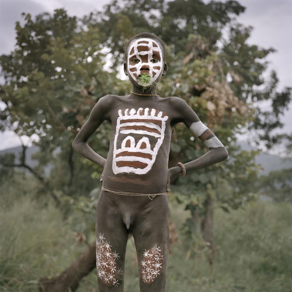 Ethiopia, Anjo, 2005 - Surma boy