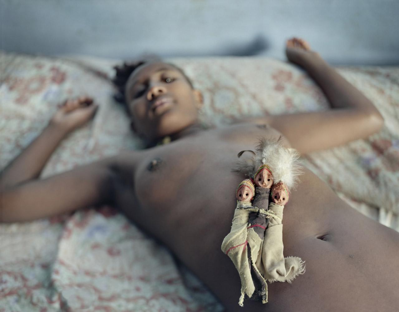 Ethiopia, Konso, 2005 Konso idols